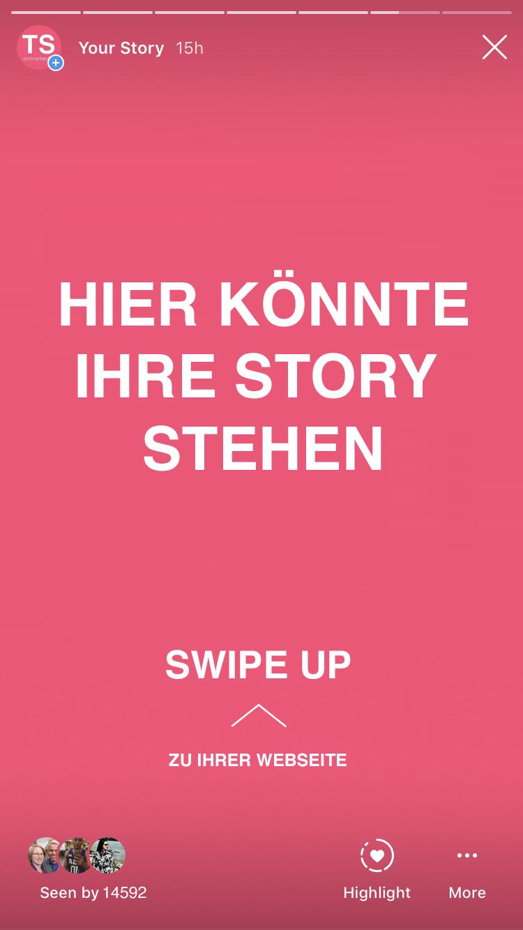 instagram story service