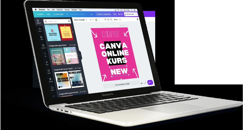 Canva online kurs